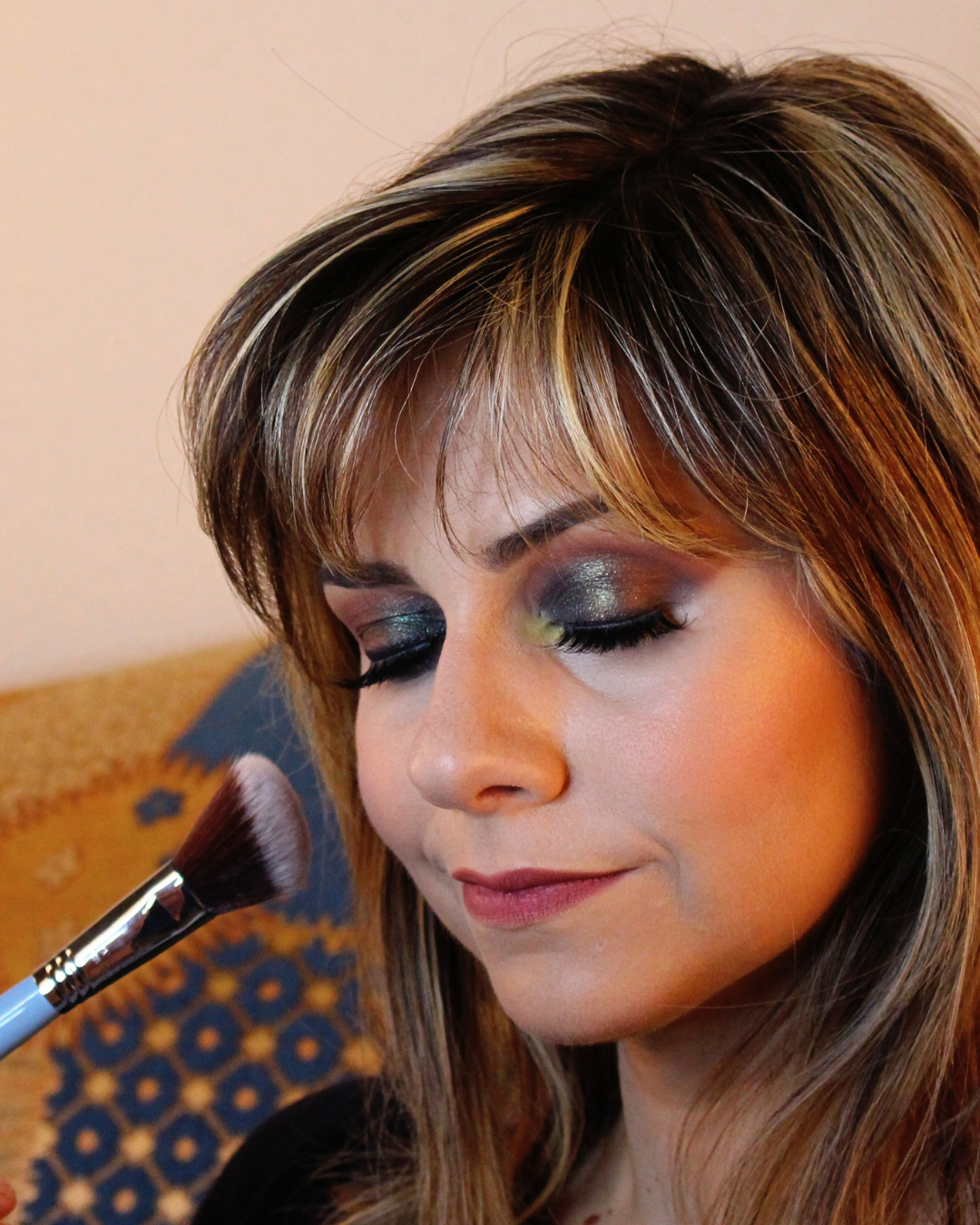 frankiefrancy arab smokey eye makeup